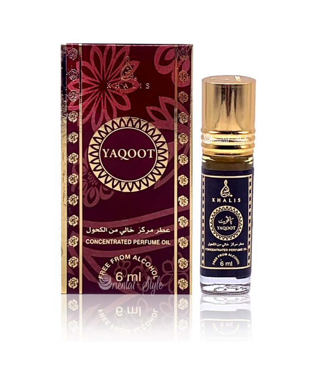 Khalis Perfume Oil Yaqoot Concentrated 6ml