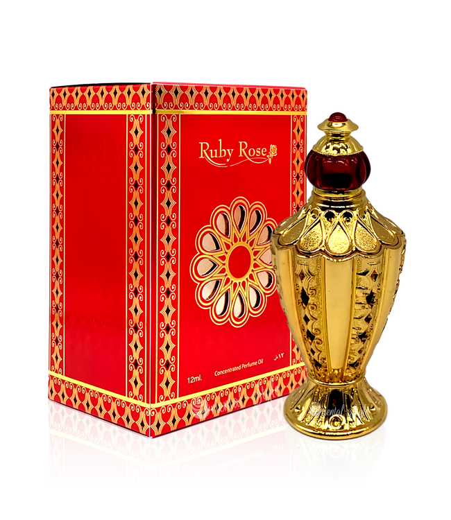 Afnan Perfume oil Ruby Rose 12ml Attar Perfume
