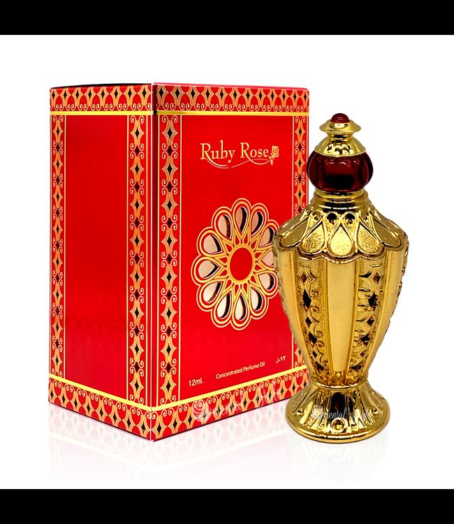 Afnan Perfume oil Ruby Rose 12ml