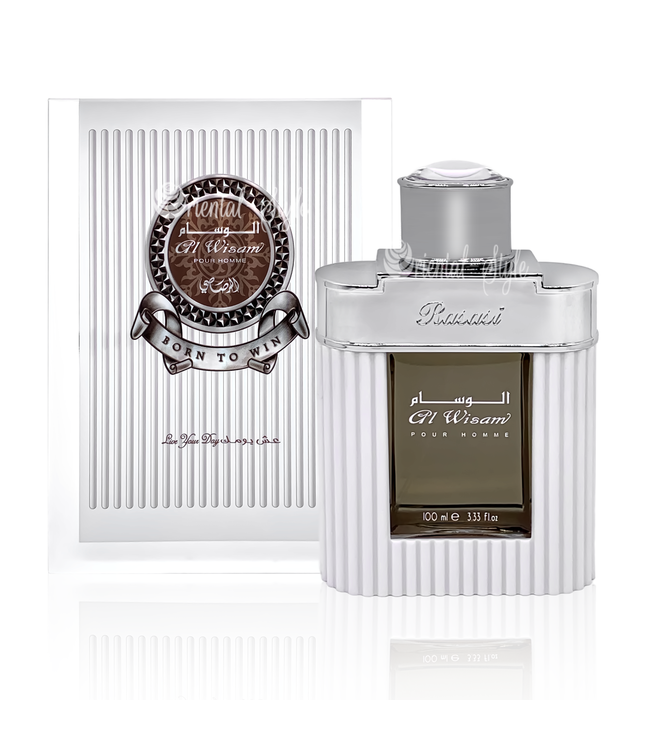 Rasasi Al Wisam Day Eau de Parfum 100ml by Rasasi Perfume Spray