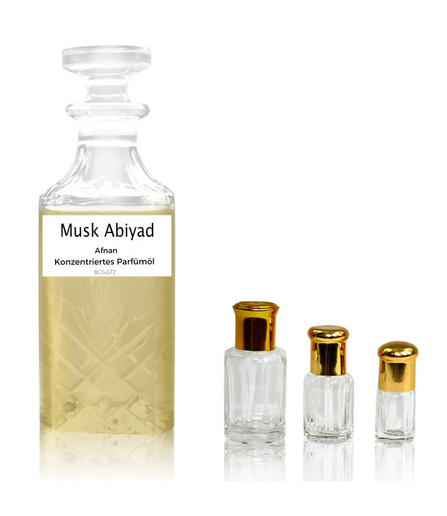 Afnan Perfume Oil Musk Abiyad by Afnan - Perfume free from alcohol