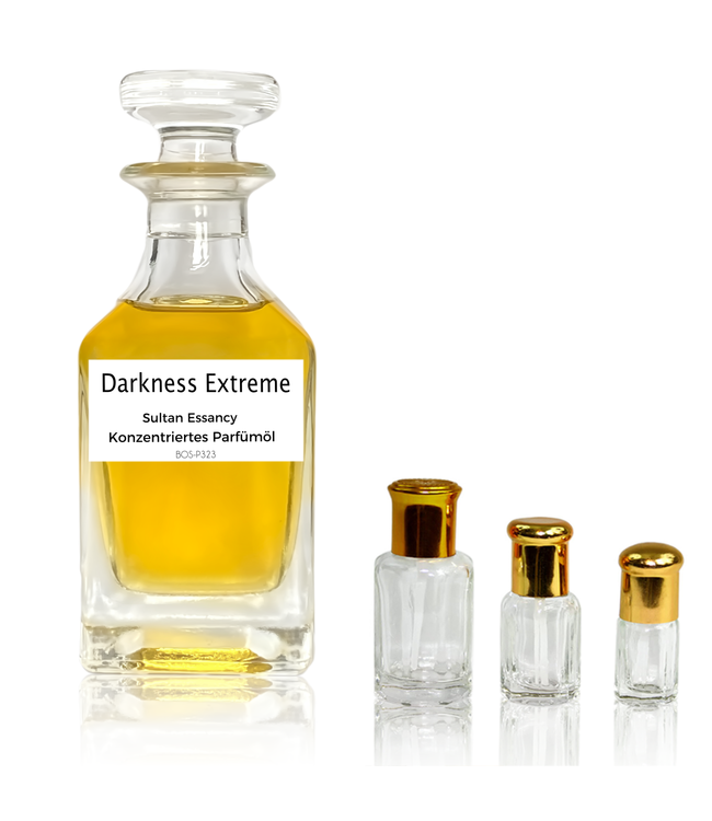 Sultan Essancy Concentrated perfume oil Darkness Extreme - Perfume free from alcohol