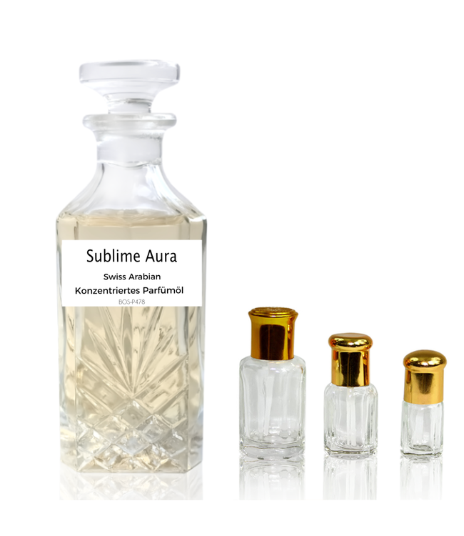 Swiss Arabian Concentrated Perfume Sublime Aura Swiss Arabian - Perfume Free From Alcohol