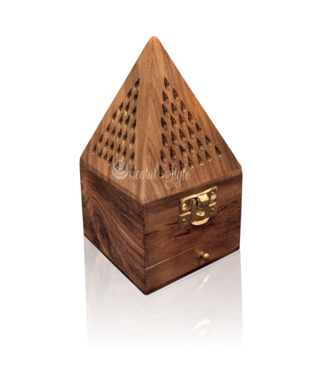 Mubkara - Incense Holder Pyramid For Bakhour Wood