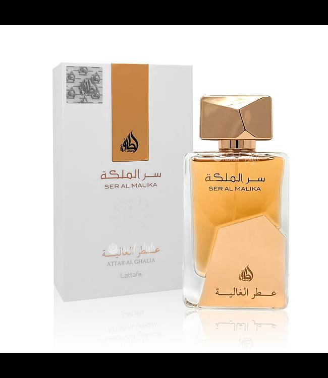Lattafa Perfumes Ser Al Malika Attar Al Ghalia Eau de Parfum 100ml by Lattafa Perfume Spray
