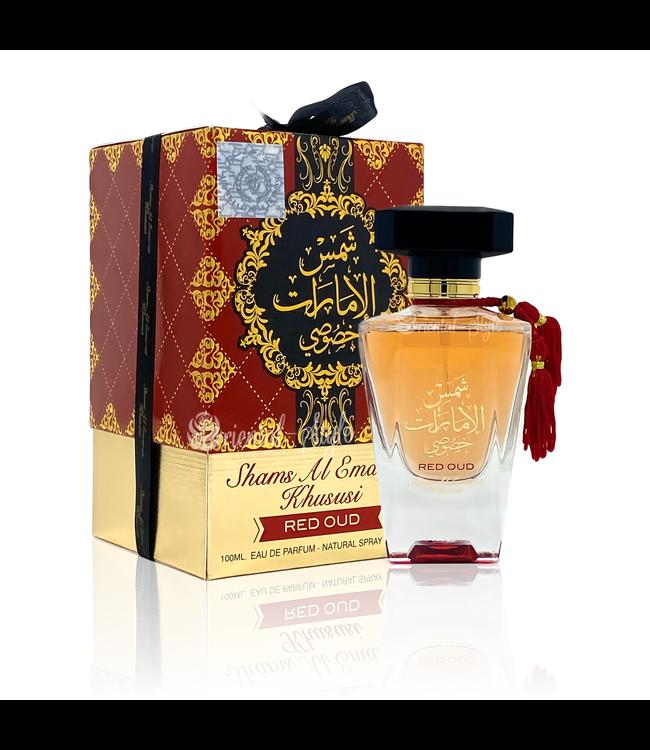 Ard Al Zaafaran Perfumes  Parfüm Shams Al Emarat Khususi Red Oud Eau de Parfum 100ml Ard Al Zaafaran Spray