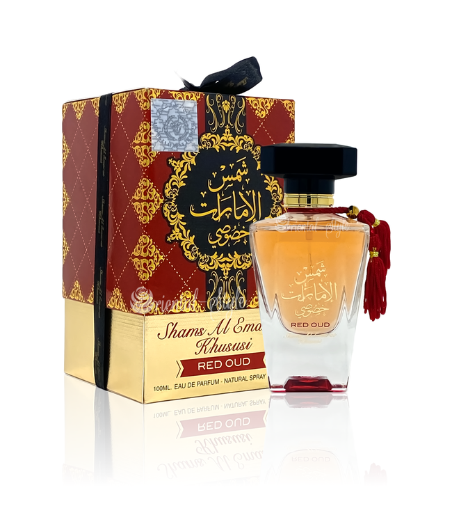 Ard Al Zaafaran Perfumes  Shams Al Emarat Khususi Red Oud Eau de Parfum 100ml by Ard Al Zaafaran Perfume Spray