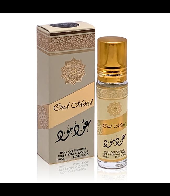 Ard Al Zaafaran Perfumes  Concentrated perfume oil Oud Mood 10ml - Perfume free from alcohol