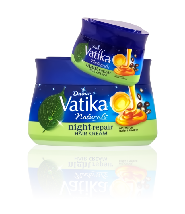 Vatika Dabur Vatika Naturals Night Repair Hair Cream (140ml)