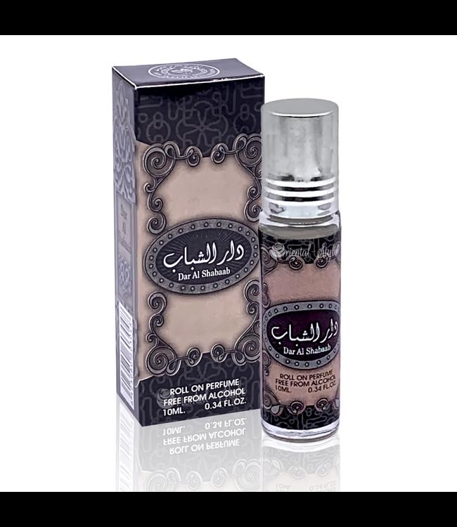 Ard Al Zaafaran Perfumes  Concentrated perfume oil Dar Al Shabaab 10ml - Perfume free from alcohol
