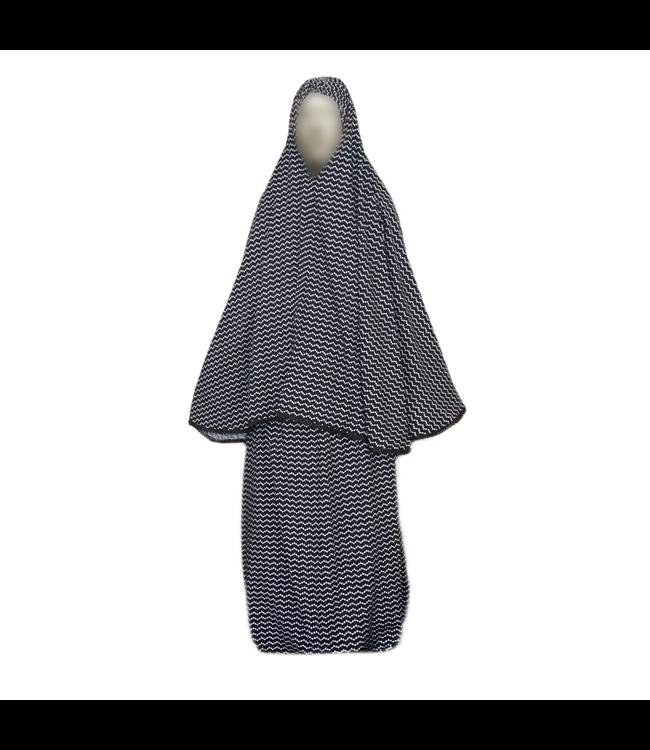 Prayer clothes outfit Zigzag - Two piece set dress