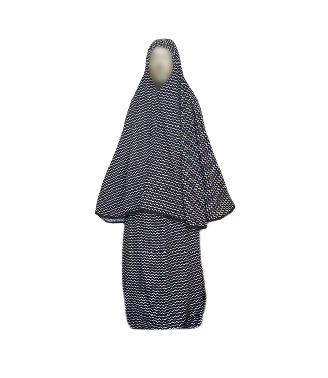Prayer clothes outfit - Zigzag