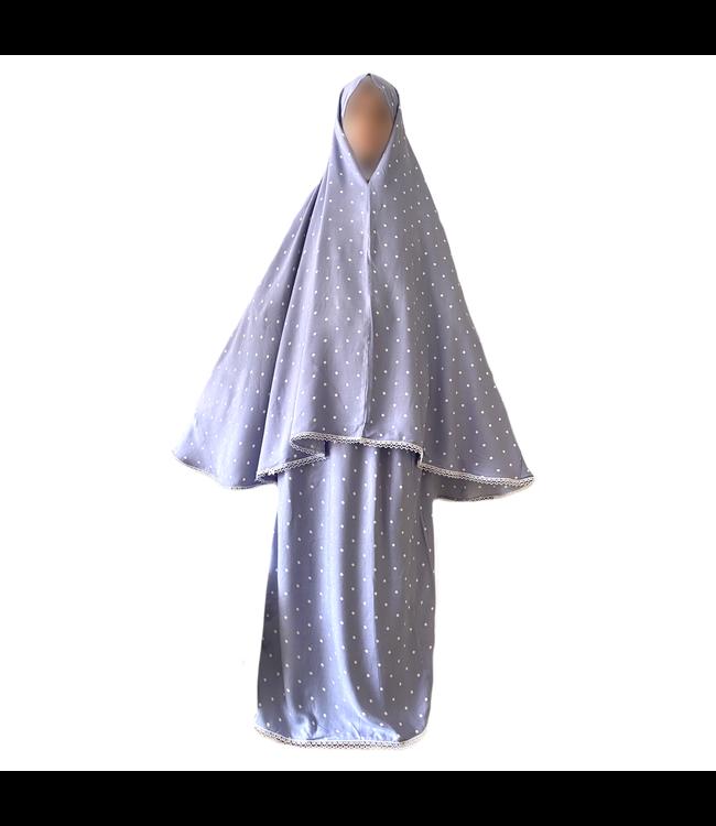 Gebetskleidung Violett - Zweiteilig