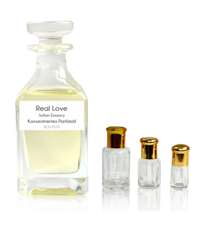 Sultan Essancy Concentrated perfume oil Real Love - Perfume free from alcohol