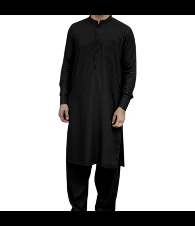 Salwar Kameez Men - Black