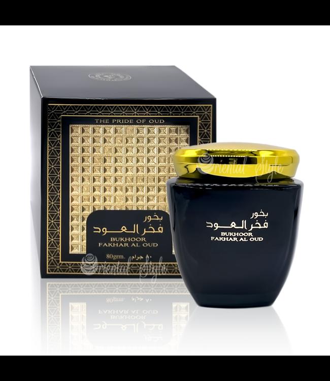 Ard Al Zaafaran Perfumes  Bakhoor Bukhoor Fakhar Al Oud (80g)