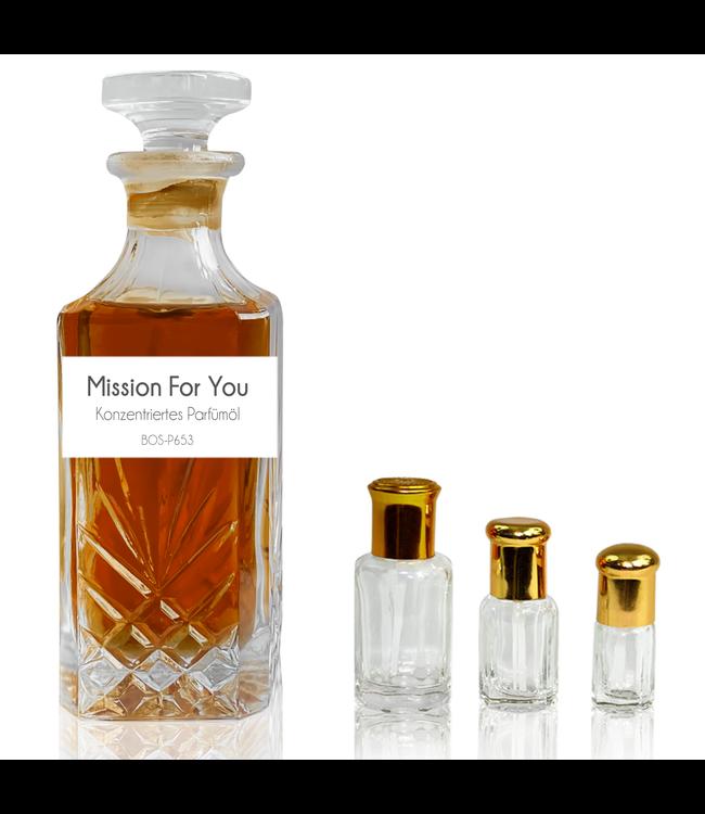 Sultan Essancy Parfümöl Mission For You - Attar Parfüm ohne Alkohol