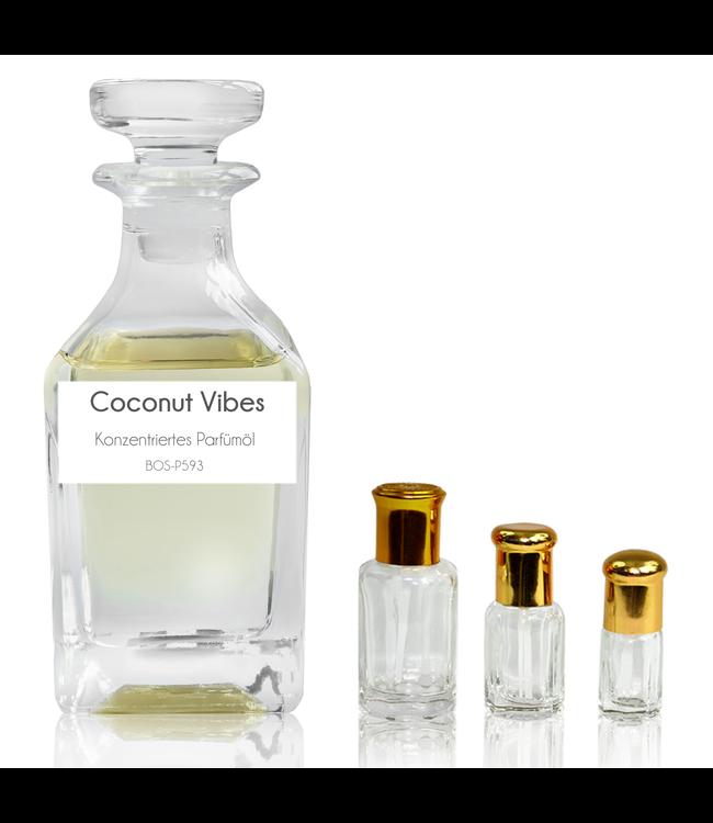 Sultan Essancy Parfümöl Coconut Vibes - Attar Parfüm ohne Alkohol