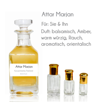 Perfume Oil Attar Marjan
