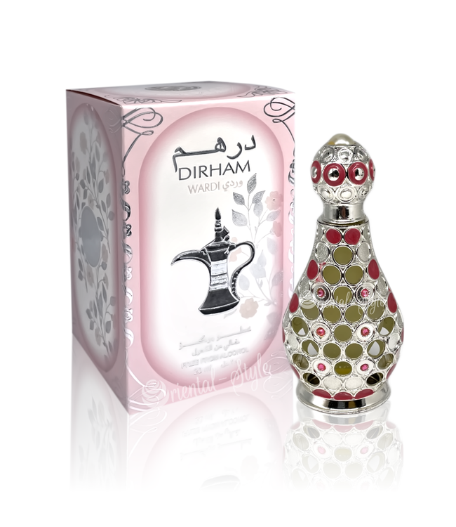 Ard Al Zaafaran Perfumes  Concentrated perfume oil Dirham Wardi 20ml - Perfume free from alcohol