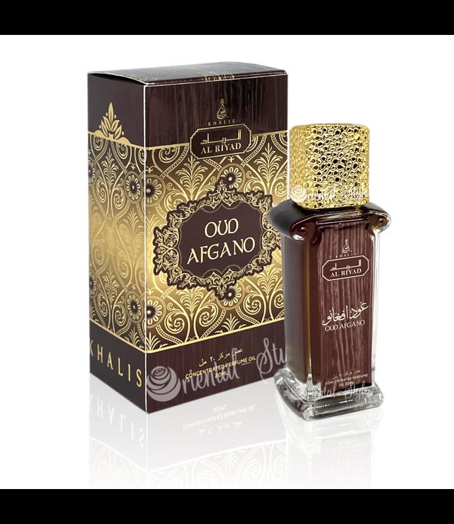 Khalis Parfümöl Oud Afgano 20ml - Parfümöl ohne Alkohol