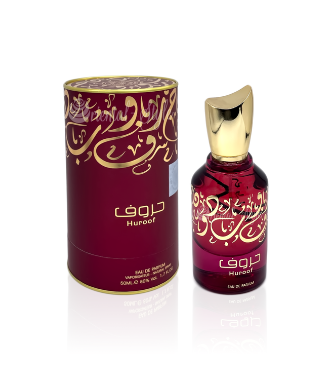 Ard Al Zaafaran Perfumes  Huroof Parfüm Eau de Parfum 50ml Vaporisateur/Spray