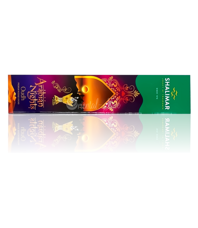 Shalimar  Premium Incense sticks Oudh Arabian Nights with Oudh scent (20g)