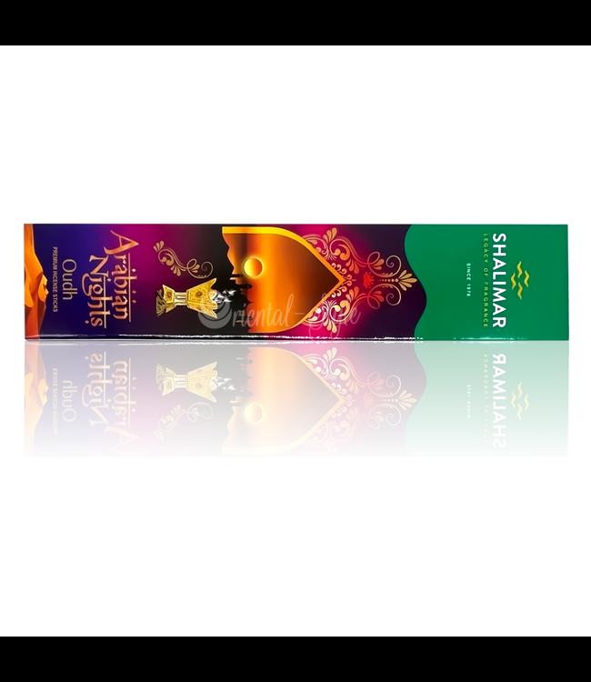 Shalimar Premium Räucherstäbchen Oudh Arabian Nights mit Oudhduft (20g)