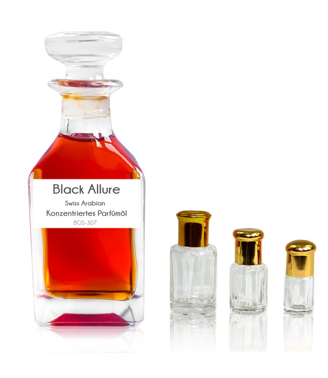 Swiss Arabian Concentrated Perfume Oil Black Allure - Perfume free from alcohol