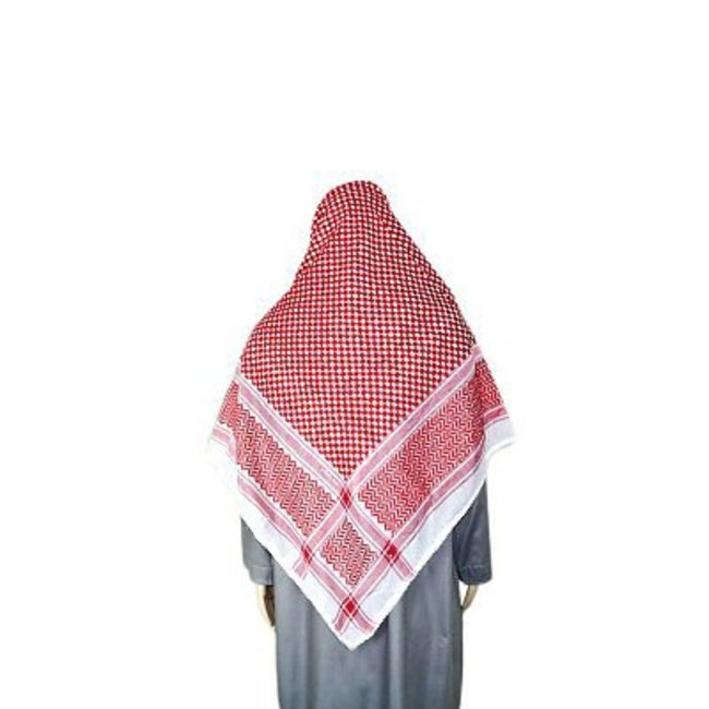 Large Scarf - Shemagh 142x142cm