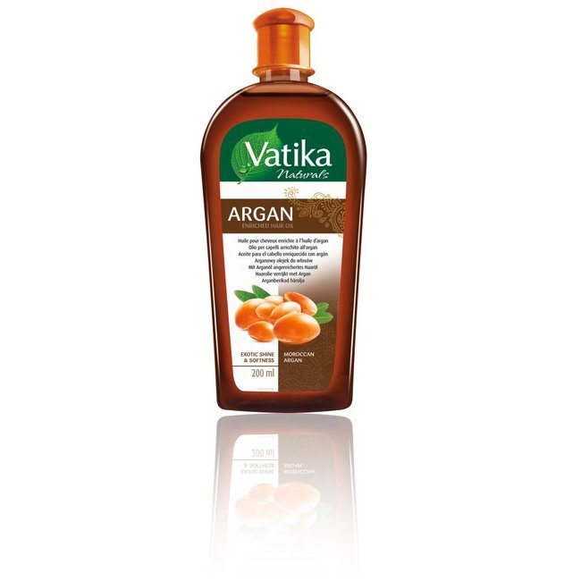 Vatika Dabur Enriched Argan Hair Oil (200ml)