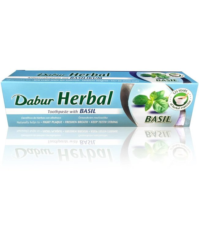 Dabur Ayurvedic Toothpaste with Basil (100ml)