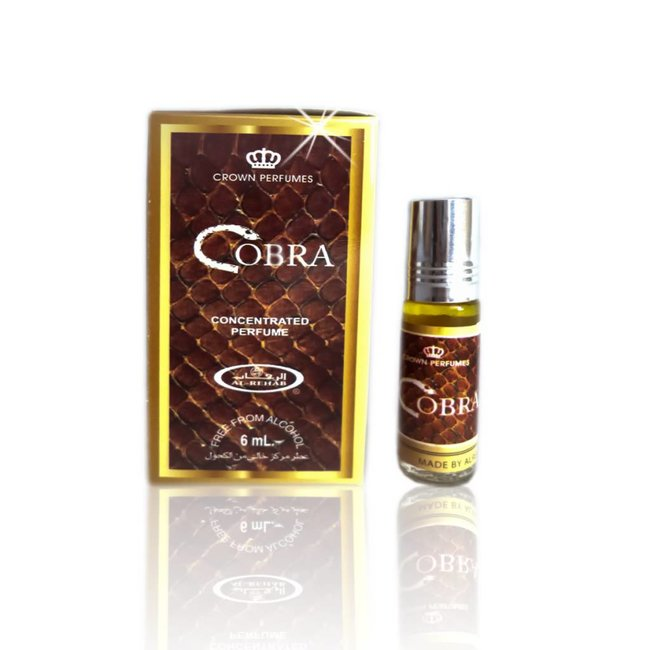 2933ba5a5 Al Rehab Cobra Perfume 6ml Perfume Oil free from alcohol - Oriental ...