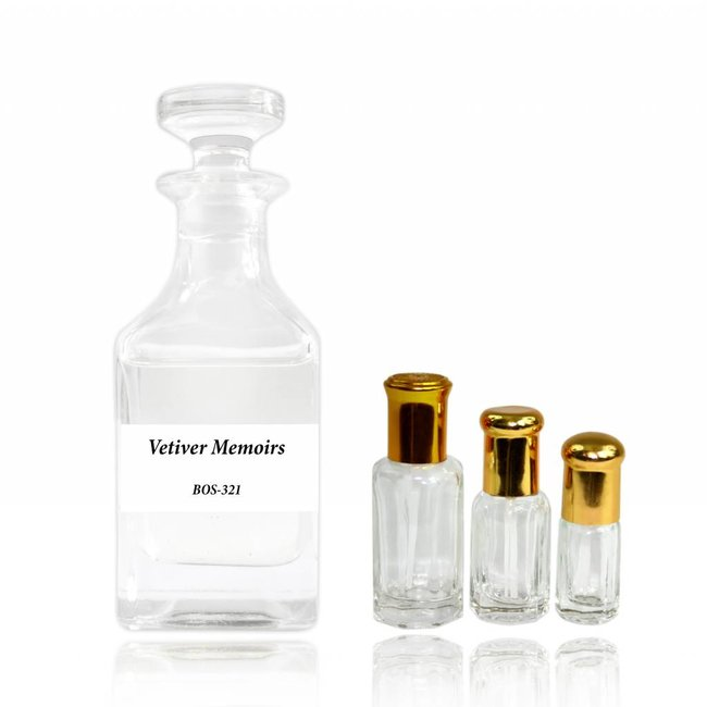 Swiss Arabian Perfume oil Vetiver Memoirs
