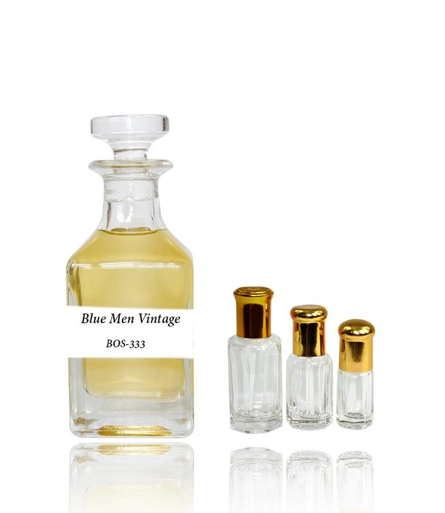 Perfume oil Blue Men Vintage - Perfume free from alcohol