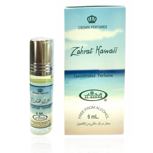 Al Rehab  Perfume oil Zahrat Hawaii by Al-Rehab 6ml