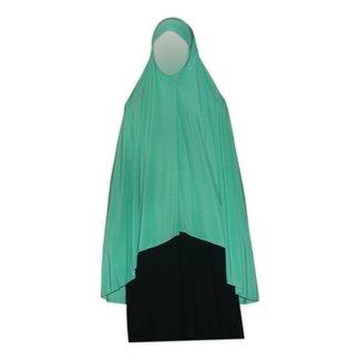 Big Khimar in Turquoise - Elastic