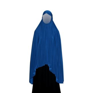 Big Khimar in Blue - Elastic