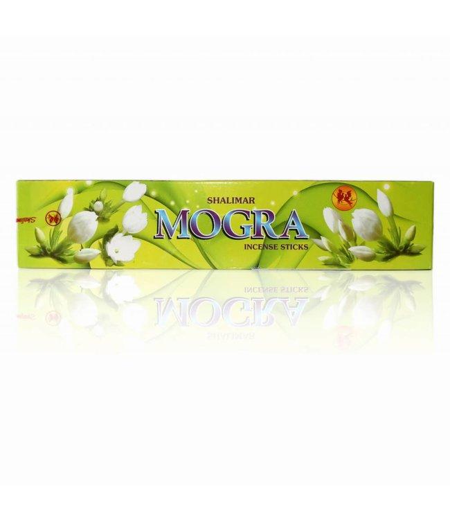 Shalimar Incense sticks Mogra with Jasmine scent (20g)