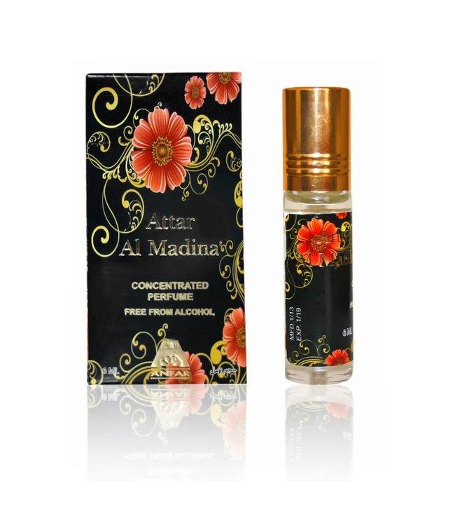 Anfar Perfume oil Attar Al Madina 6ml - Perfume free from alcohol