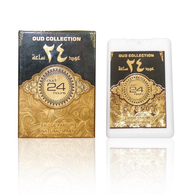 Ard Al Zaafaran Perfumes  Oud 24 hours Pocket Spray 20ml