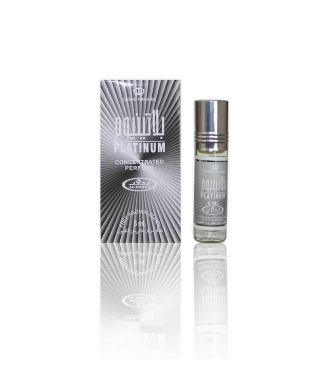 Al Rehab  Concentrated Perfume Oil Platinum by Al-Rehab 6ml