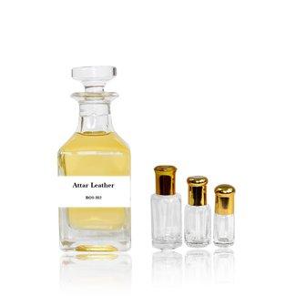 Perfume oil Attar Leather