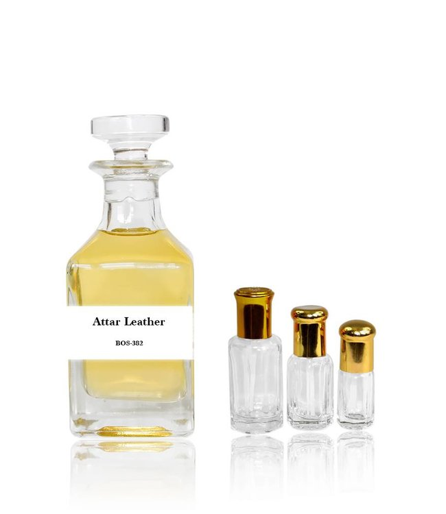 Parfümöl Attar Leather - Parfüm ohne Alkohol
