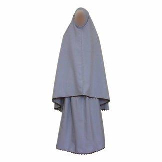 Gebetskleidung Grau