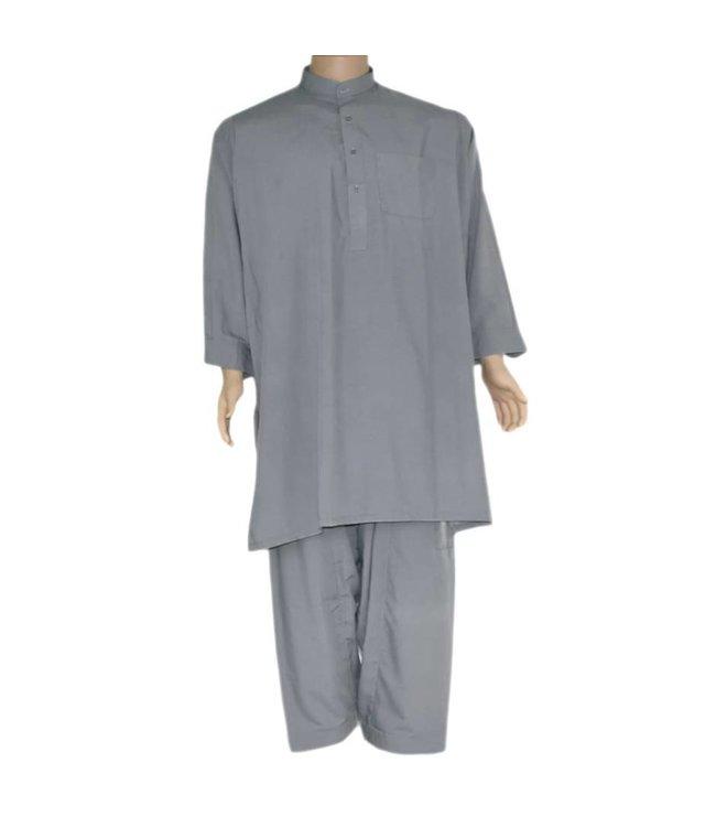 Salwar Kameez Men - Silver Grey