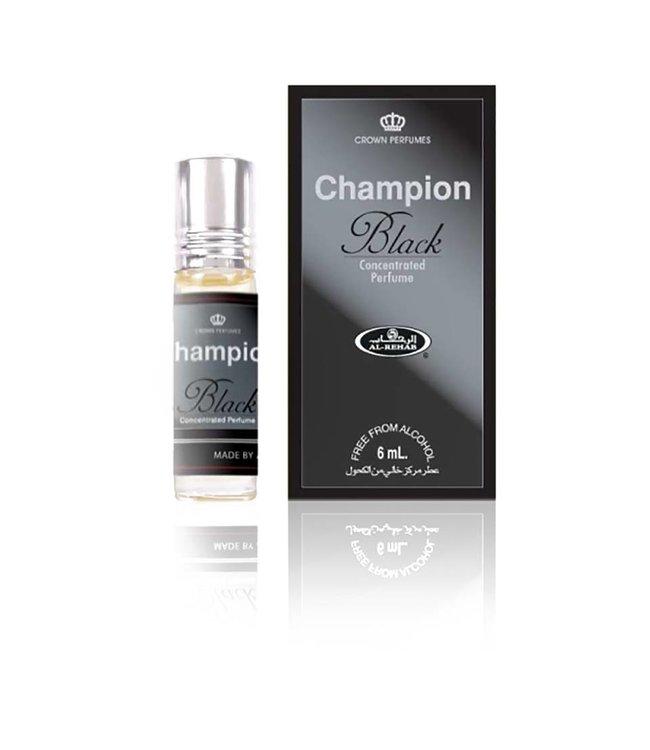 Al Rehab  Concentrated Perfume Oil Champion Black 6ml