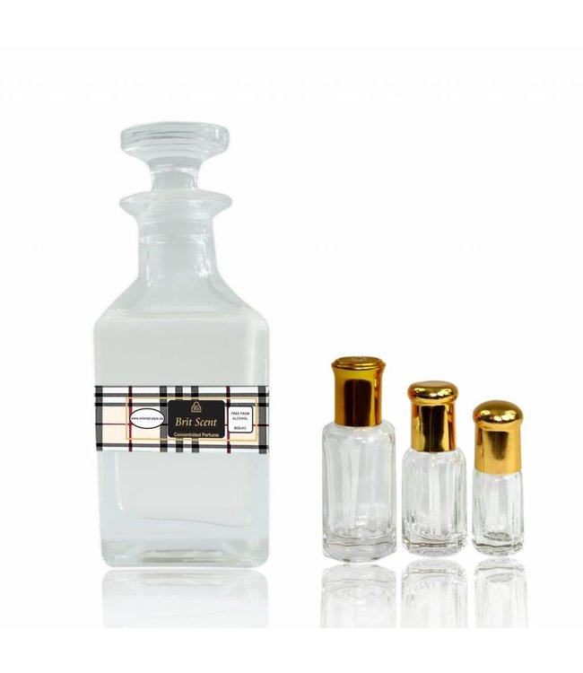 Swiss Arabian Perfume oil Brit Scent Perfume free from alcohol