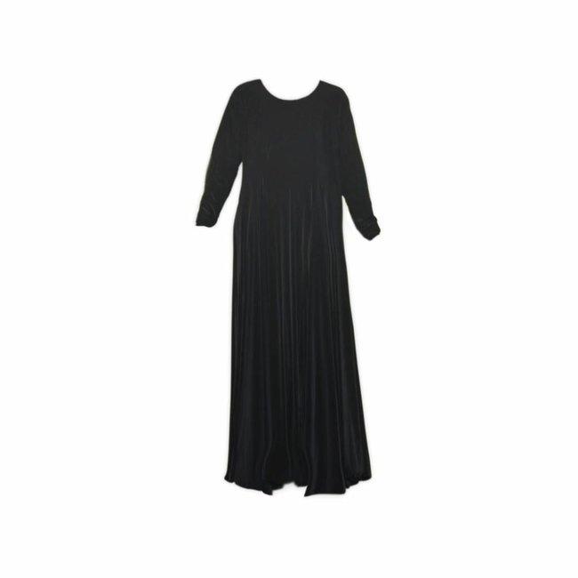Umbrella Abaya in black