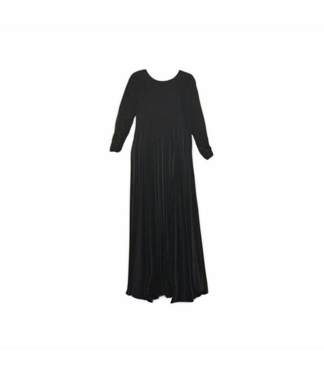 Abaya Umbrella-Stil in Schwarz
